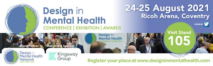 Design in Mental Health Conference banner