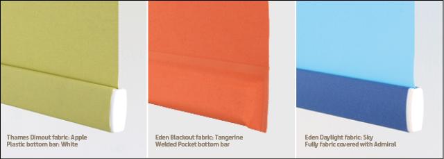 Fabric Bottom Bars